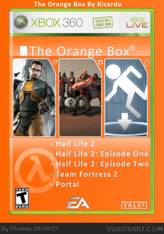 The Orange Box box cover