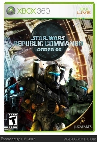 Star Wars Republic Commando: Order 66 box cover