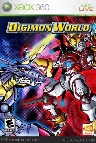 Digimon World box cover