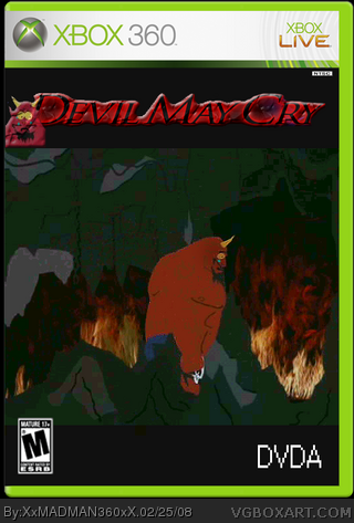 Devil May Cry box cover