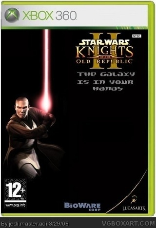 Star Wars KOTOR 2 box cover