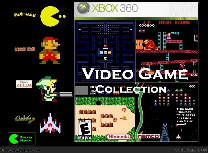 Video Games Collection box art cover