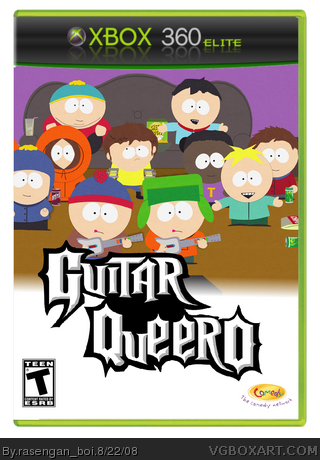 Guitar Queer-o box art cover