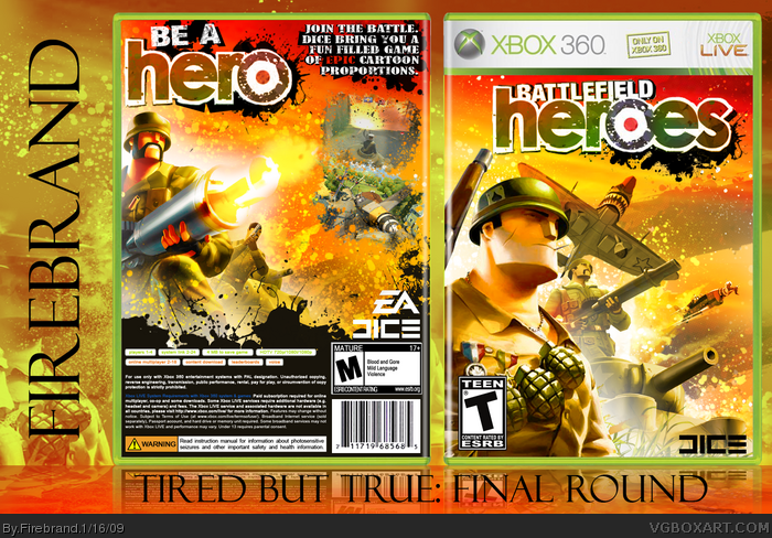 Battlefield Heroes box art cover