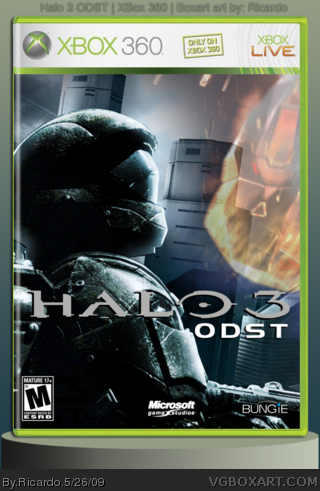 Halo 3: ODST box cover
