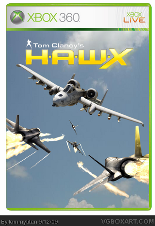 Tom Clancy's HAWX box cover