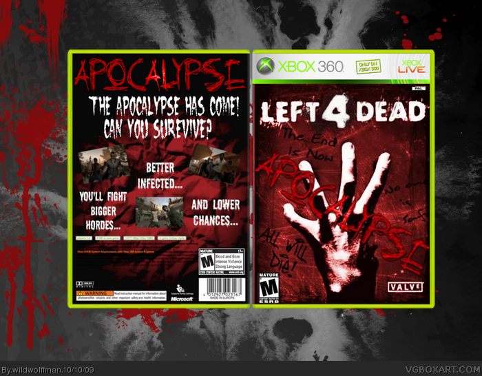 Left 4 Dead: Apocalypse box art cover