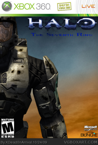 Halo: The Seventh Ring box cover