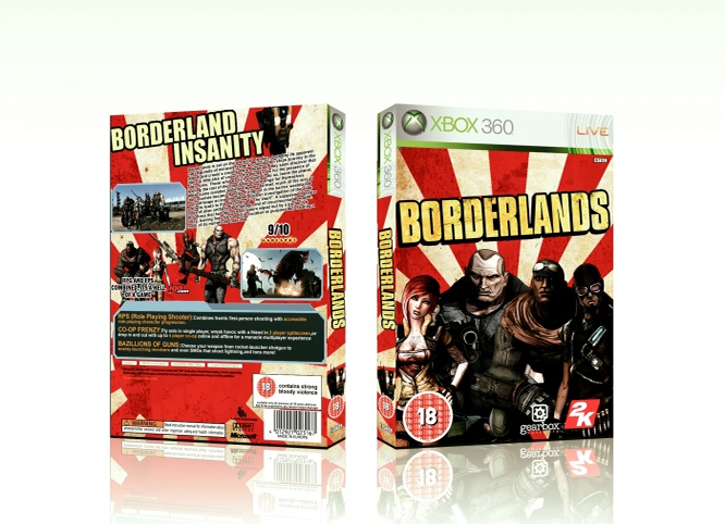Borderlands box cover