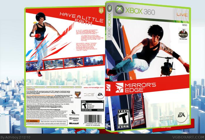 Xbox 360 » Mirror's Edge Box Cover