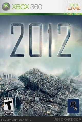 2012 box art cover