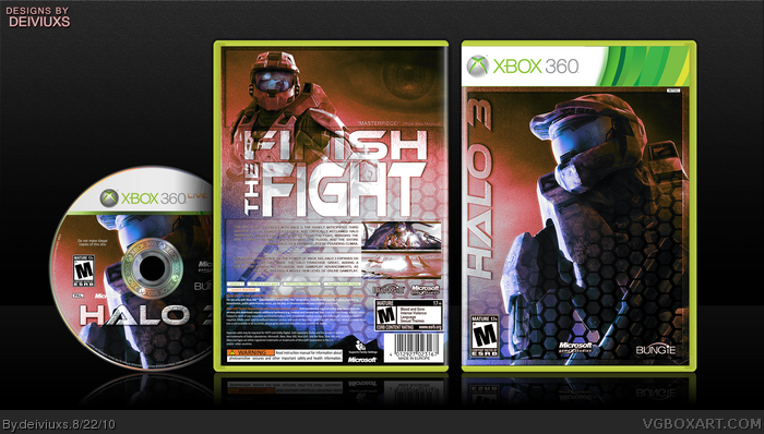 Halo 3 box art cover