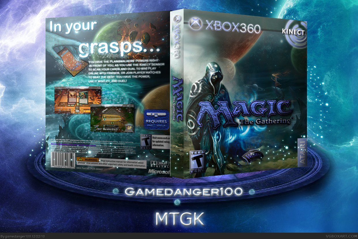 Magic the Gathering: Kinect box cover