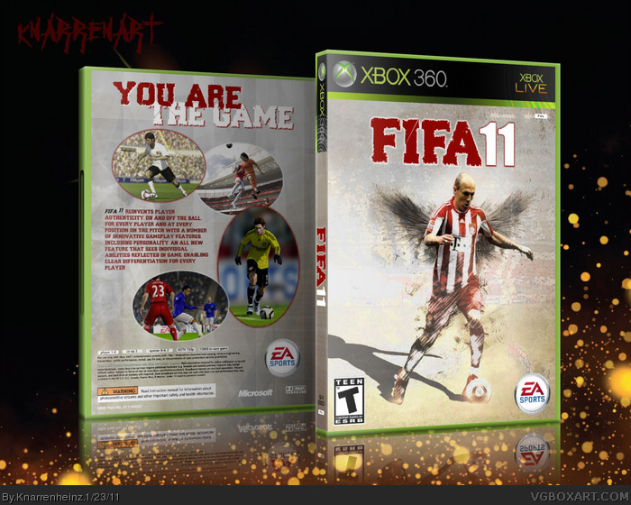 Fifa 11 box art cover