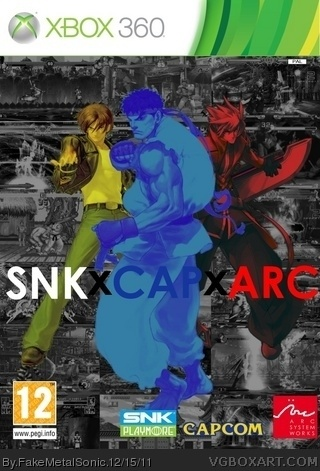 SNK X CAPCOM X ARC SYSTEM box art cover