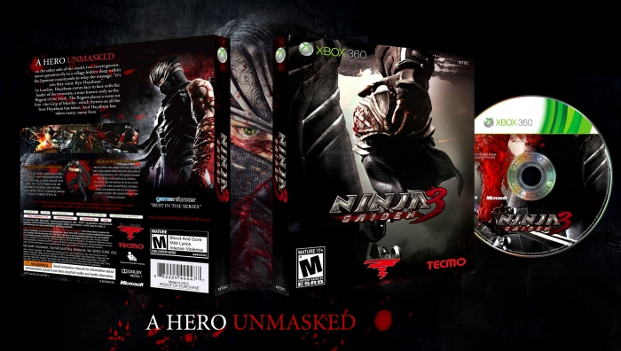 Ninja Gaiden 3 box art cover