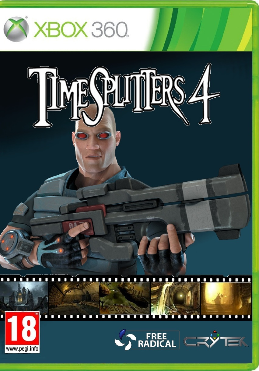 Timesplitters 4 box cover