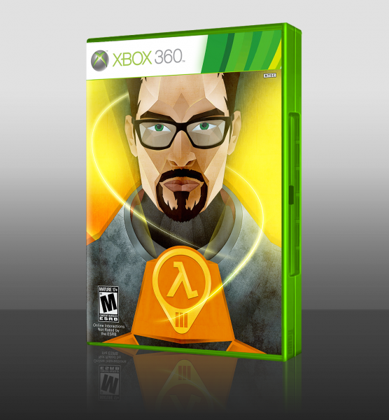 Half Life 3 box art cover