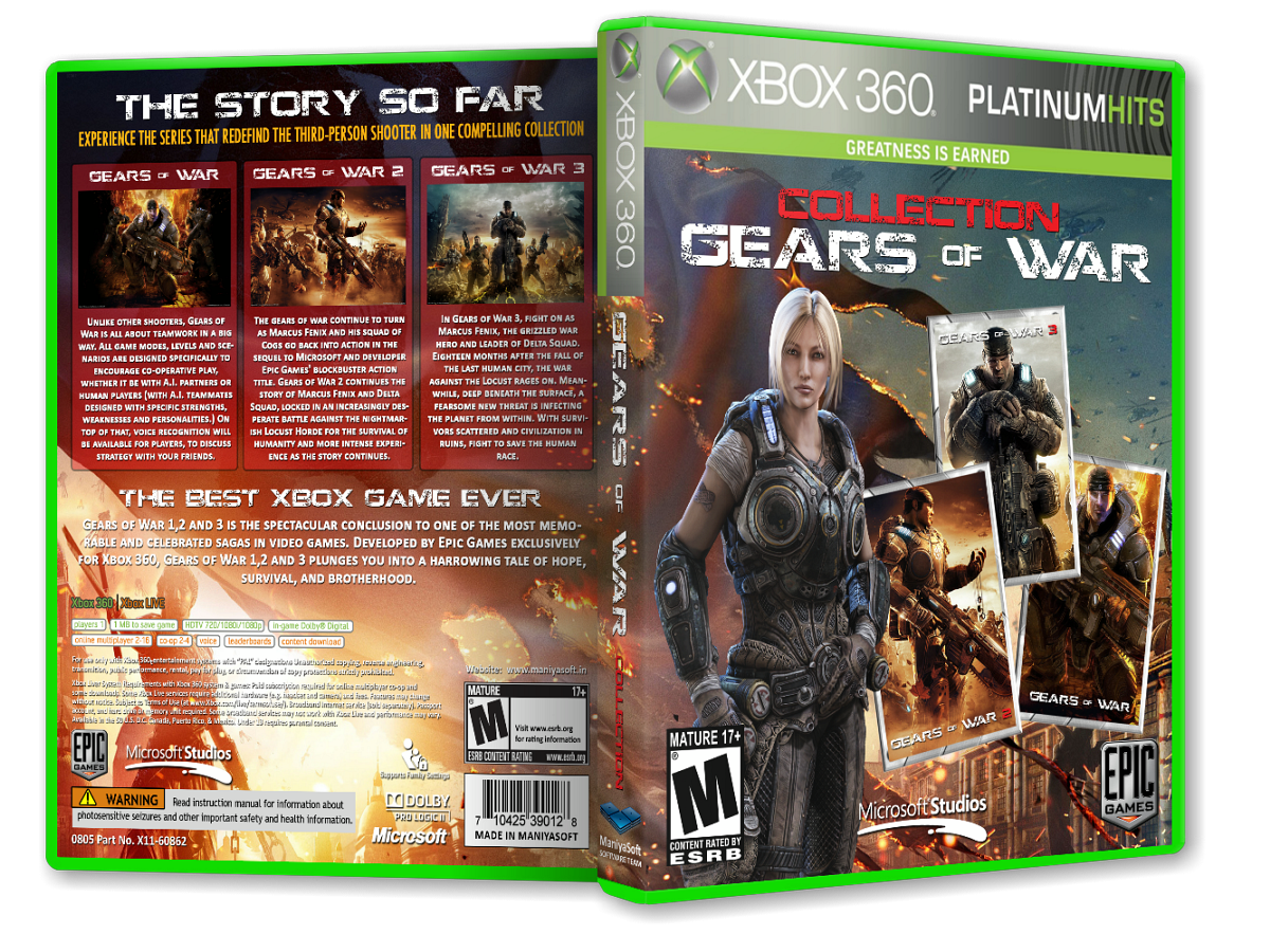 Gears of War: Collection Pack box cover