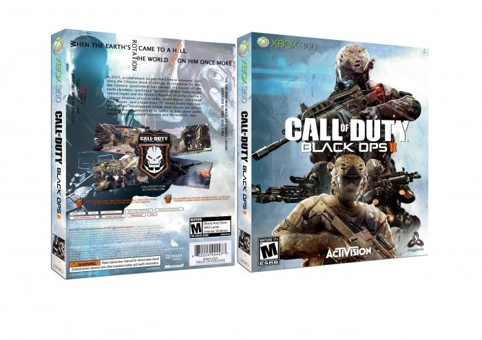 Call of Duty: Black Ops II box art cover