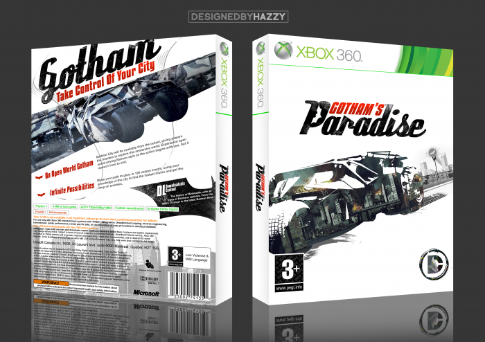 Gotham's Paradise box art cover