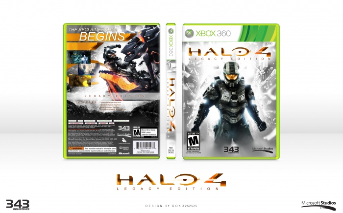 Halo 4: Legacy Edition box art cover