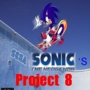 Sonic's Project 8 Box Art Cover