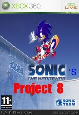 Sonic's Project 8 box cover