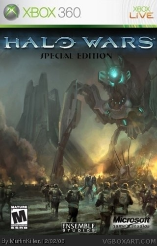 Halo Wars:Special Edition box art cover