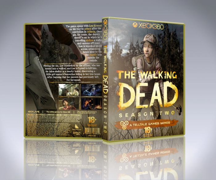 The Walking Dead Season 2 box art cover