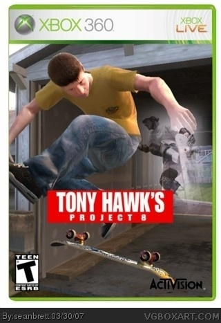Tony Hawk's Project 8 box cover