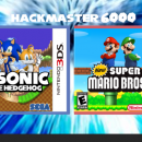 New Mario And Sonic 3D Twin Pack Box Art Cover