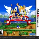 Sonic The Hedgehog 4 Episode 2 Box Art Cover