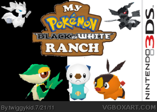My Pokemon Black and White Ranch box cover