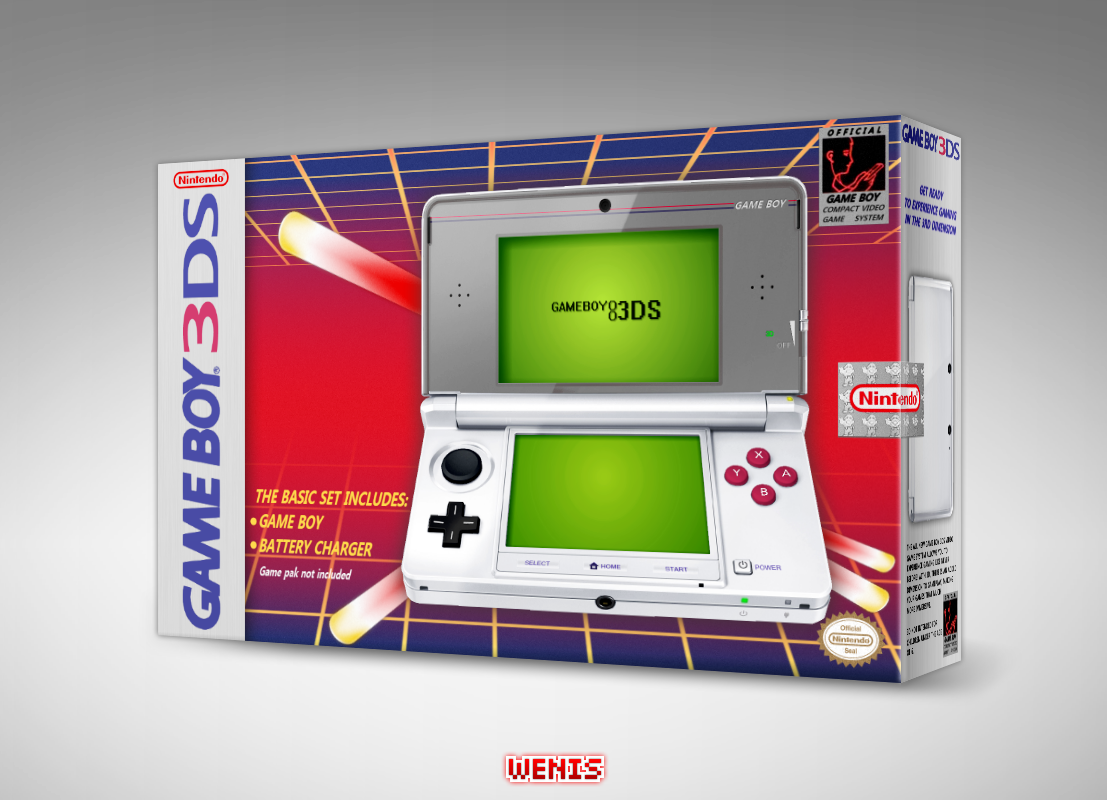 Game Boy 3DS box cover