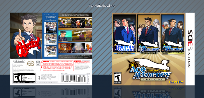 Phoenix Wright: Ace Attorney Trilogy box art cover