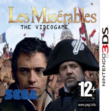 Les Miserables: The Videogame box cover