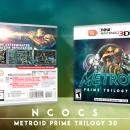 Metroid Prime Trilogy 3D Box Art Cover