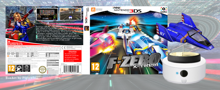 F-Zero X-trem box art cover