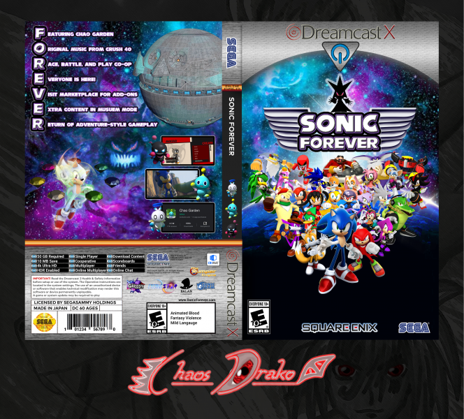 Sonic Forever DX box art cover