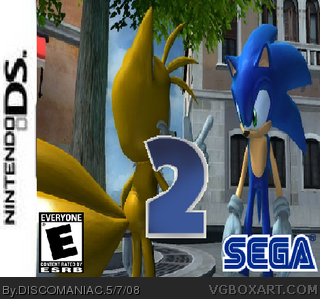 Sonic the Hedgehog 2 Remake box cover