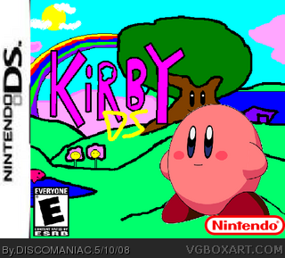 Kirby DS box cover