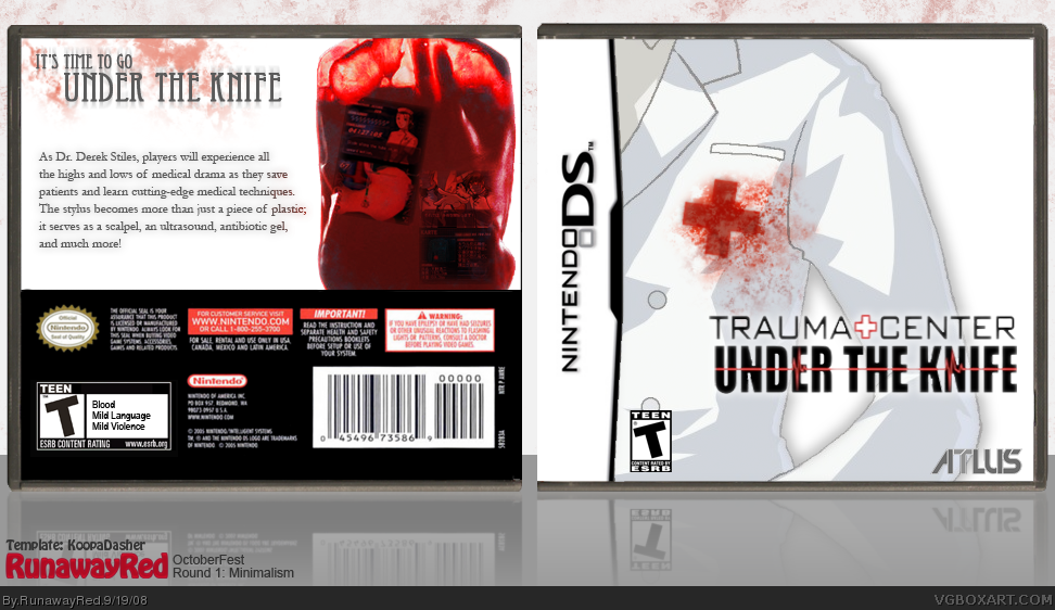 Trauma Center: Under the Knife box cover