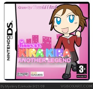 Pinky Street - Kira Kira: Another Legend box cover