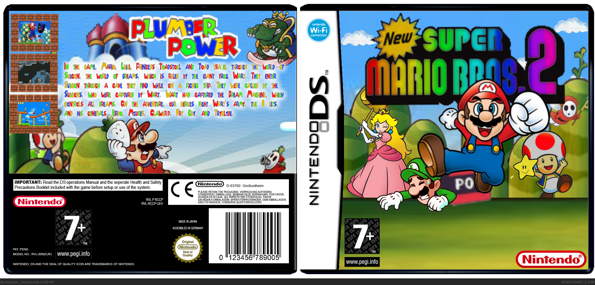 New Super Mario Bros. 2 box cover