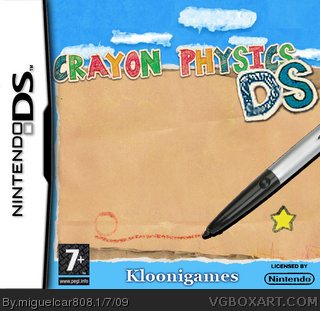 Crayon Physics DS box art cover