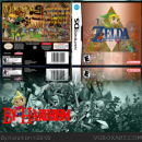 The Legend of Zelda The Wind Waker DS Box Art Cover