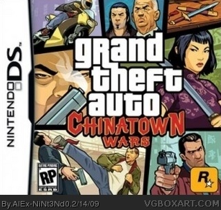 Grand Theft Auto: Chinatown Wars box cover