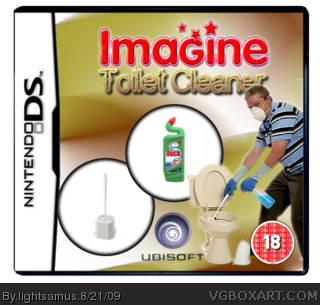 Imagine: Toilet Cleaner box cover