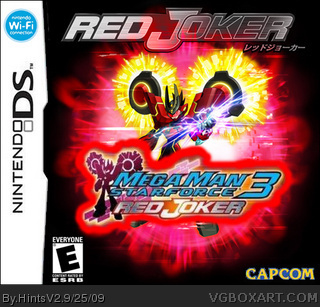 Megaman star force 3 Red Joker box cover